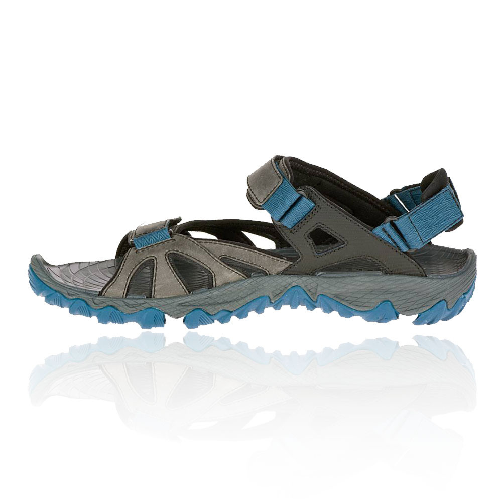 merrell all out blaze sieve convertible herren trekkingschuhe sandalen grau blau ebay. Black Bedroom Furniture Sets. Home Design Ideas