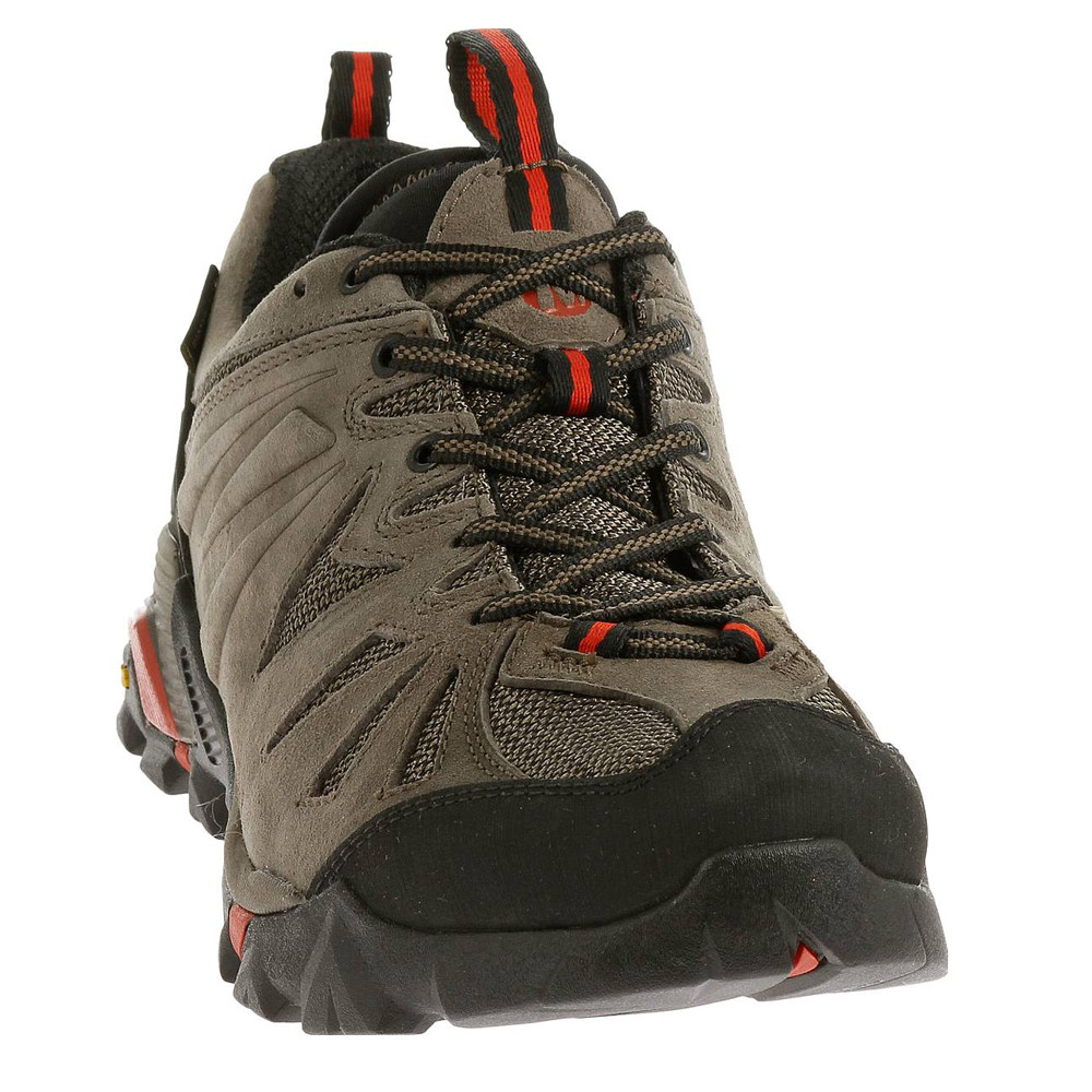 merrell capra gore tex herren wasserfest trekking schuhe wanderschuhe braun ebay. Black Bedroom Furniture Sets. Home Design Ideas