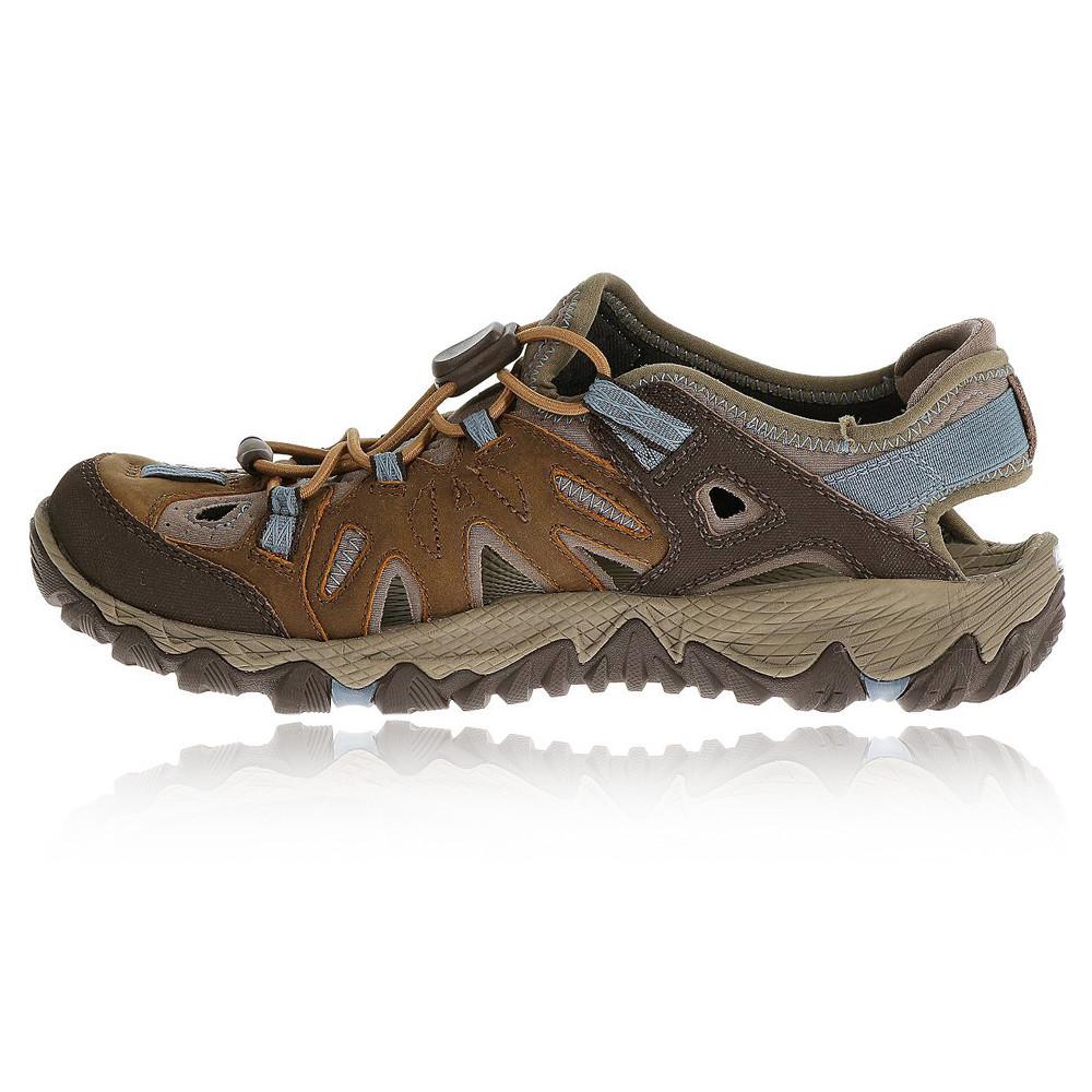Brown Walking Shoes Womens