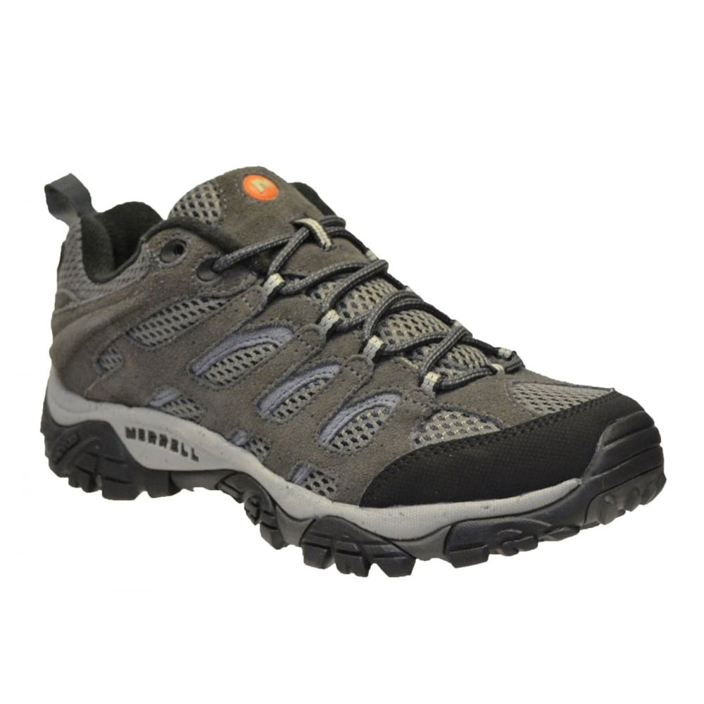 Merrell Gray Shoes Leather