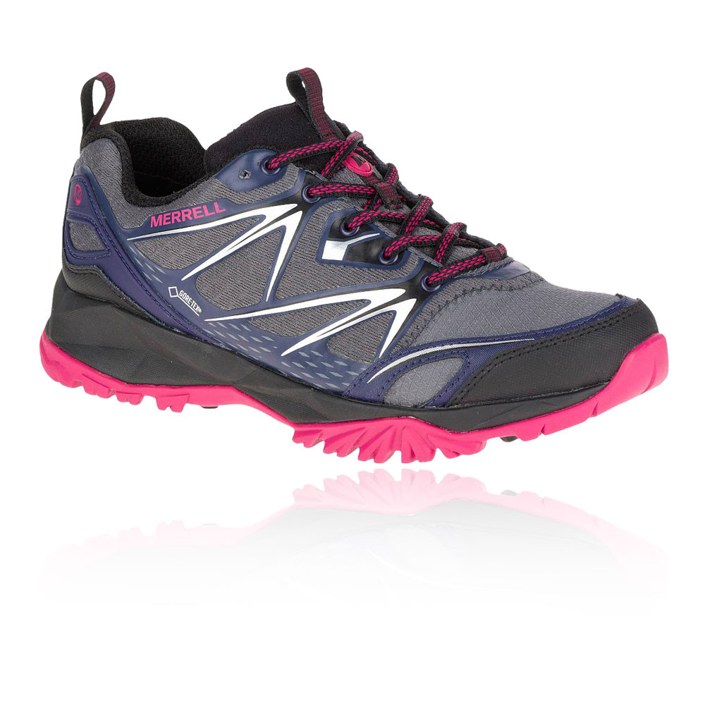 Waterproof Womens Blue Walking Shoes Size