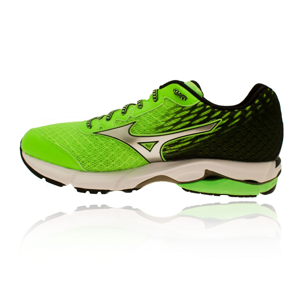 Puma Rider Black And Green Sport Shoes