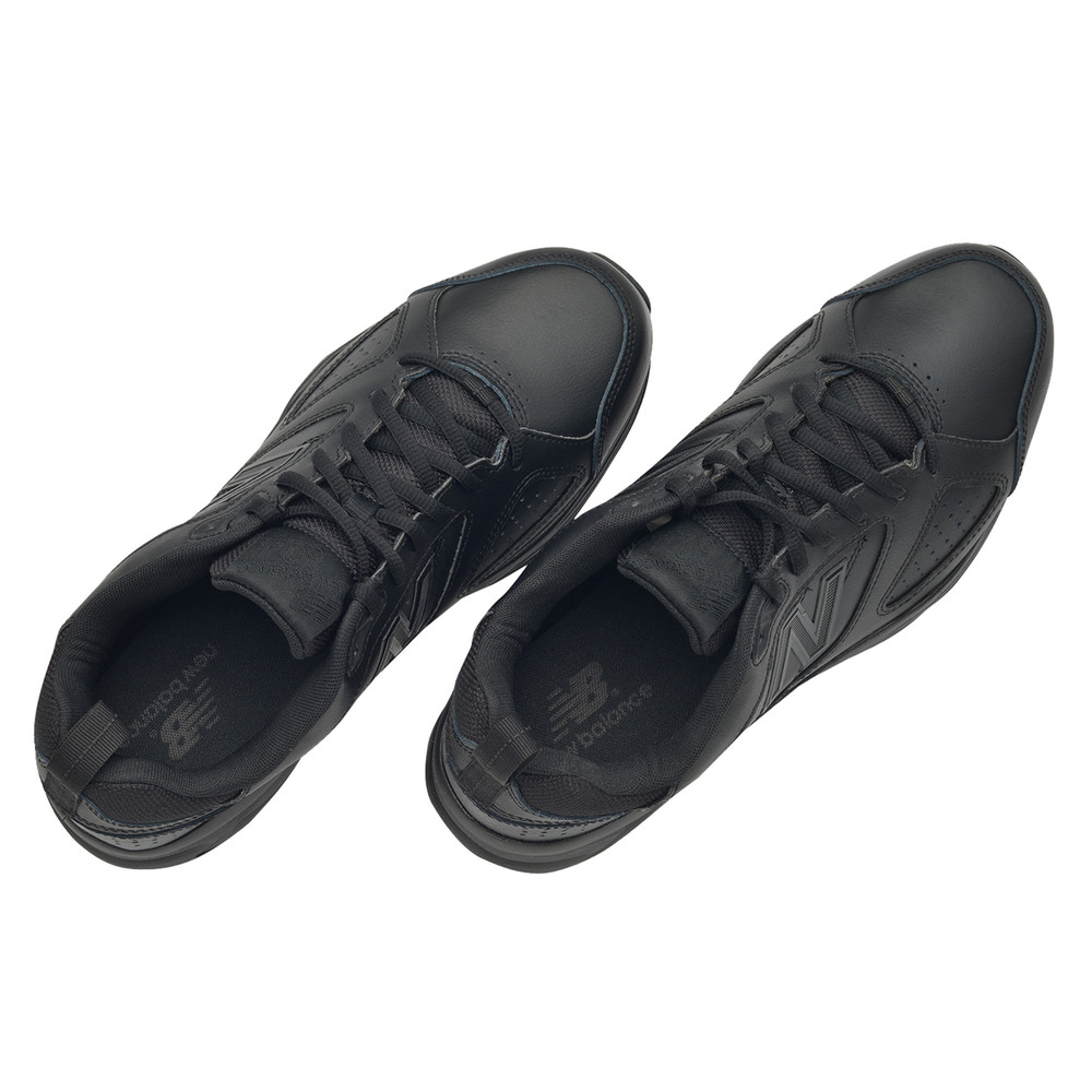New Balance MX624v4 Mens Black Cushioned Sports Shoes