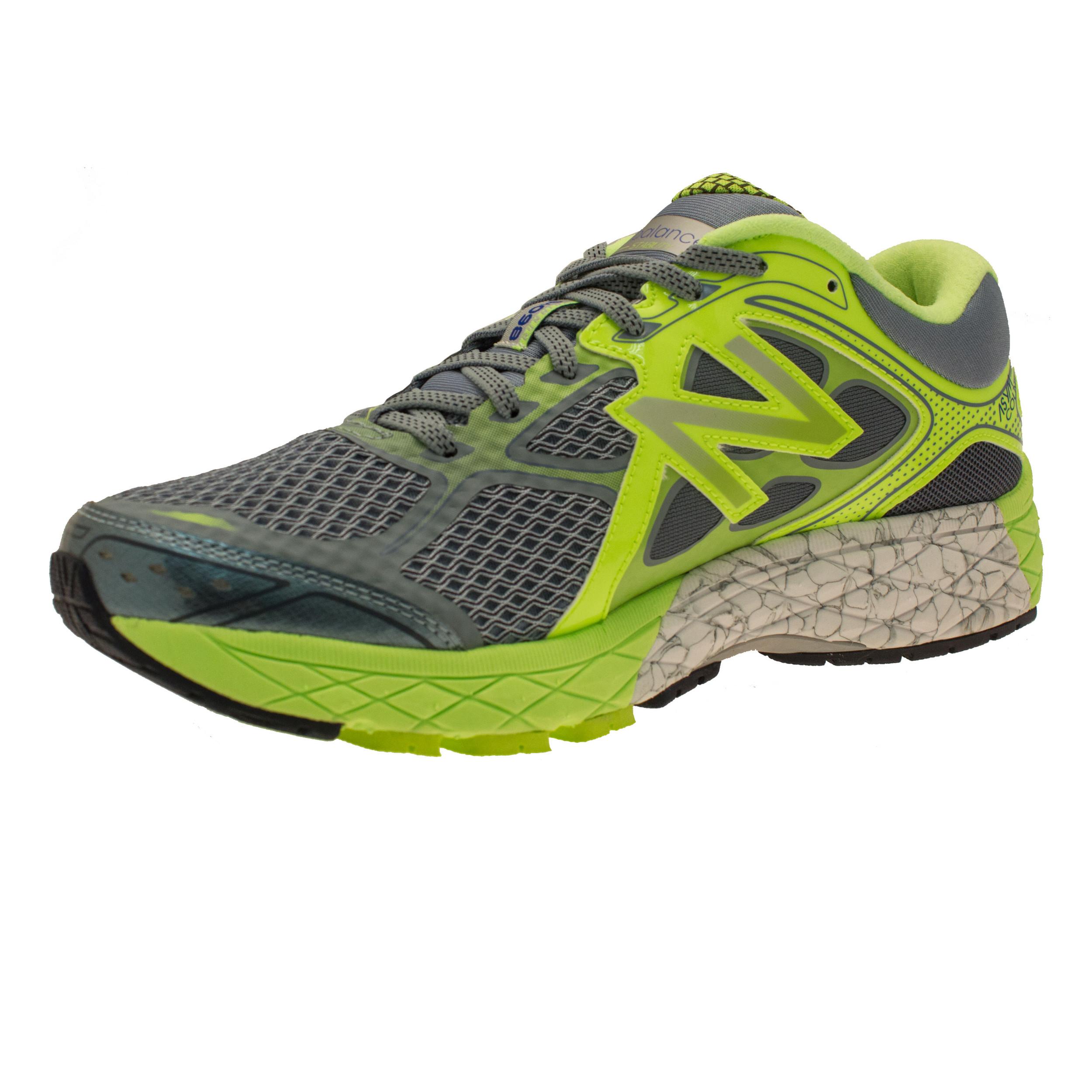 new balance m860v6 mens grey green support running sports