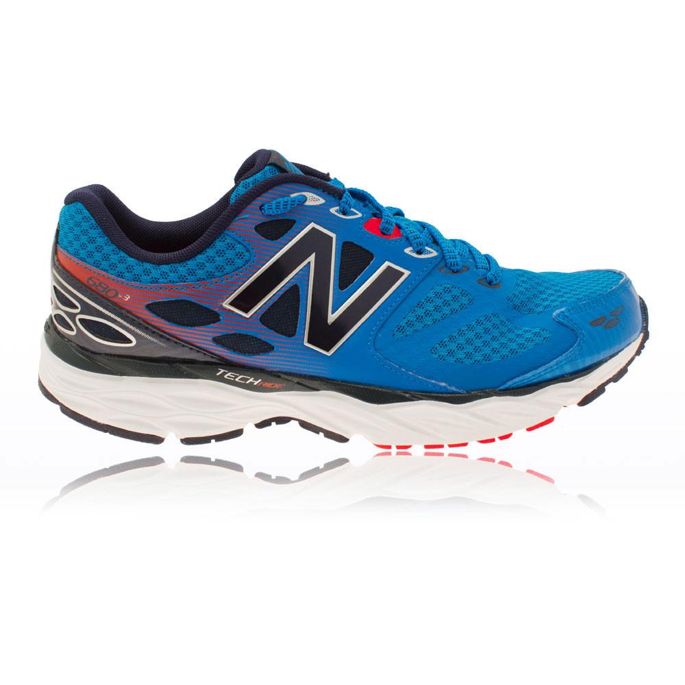 new balance w680v3 mens blue cushioned running road sports
