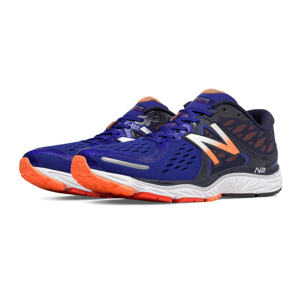 new balance m1260v6 mens blue support running road sports shoes trainers ebay