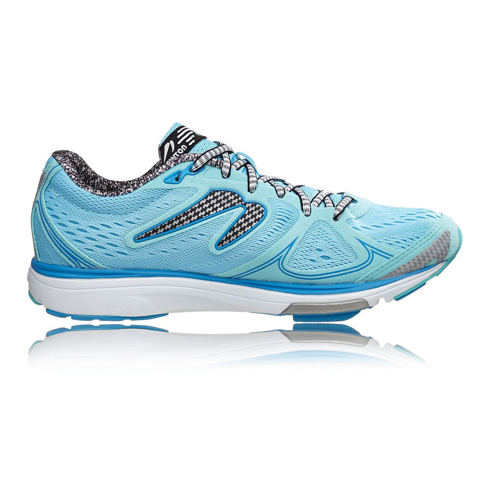 newton fate womens blue sneakers running road sports shoes