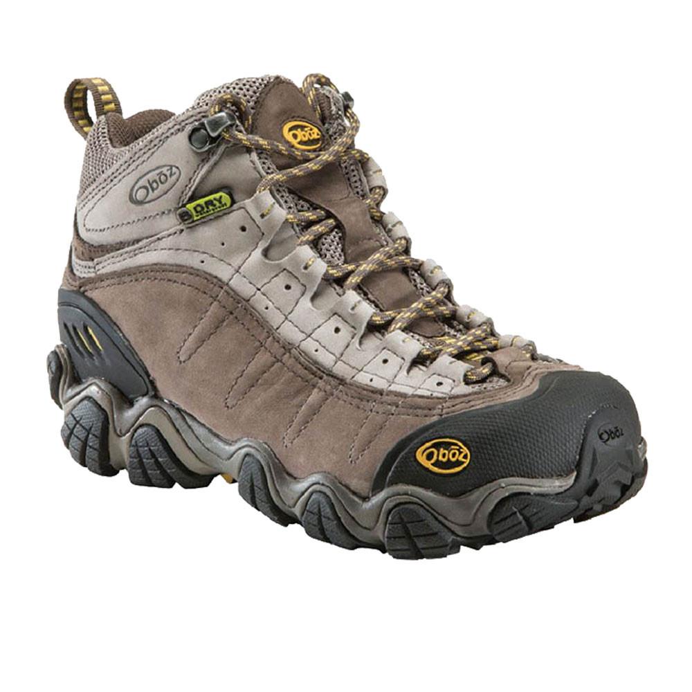 Oboz-Yellowstone-BDRY-Mujer-Marron-Impemeable-Caminar-Hiking-Botas-Zapatos