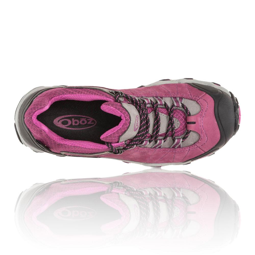 Oboz Bridger Low Bdry Womens Pink Waterproof Walking