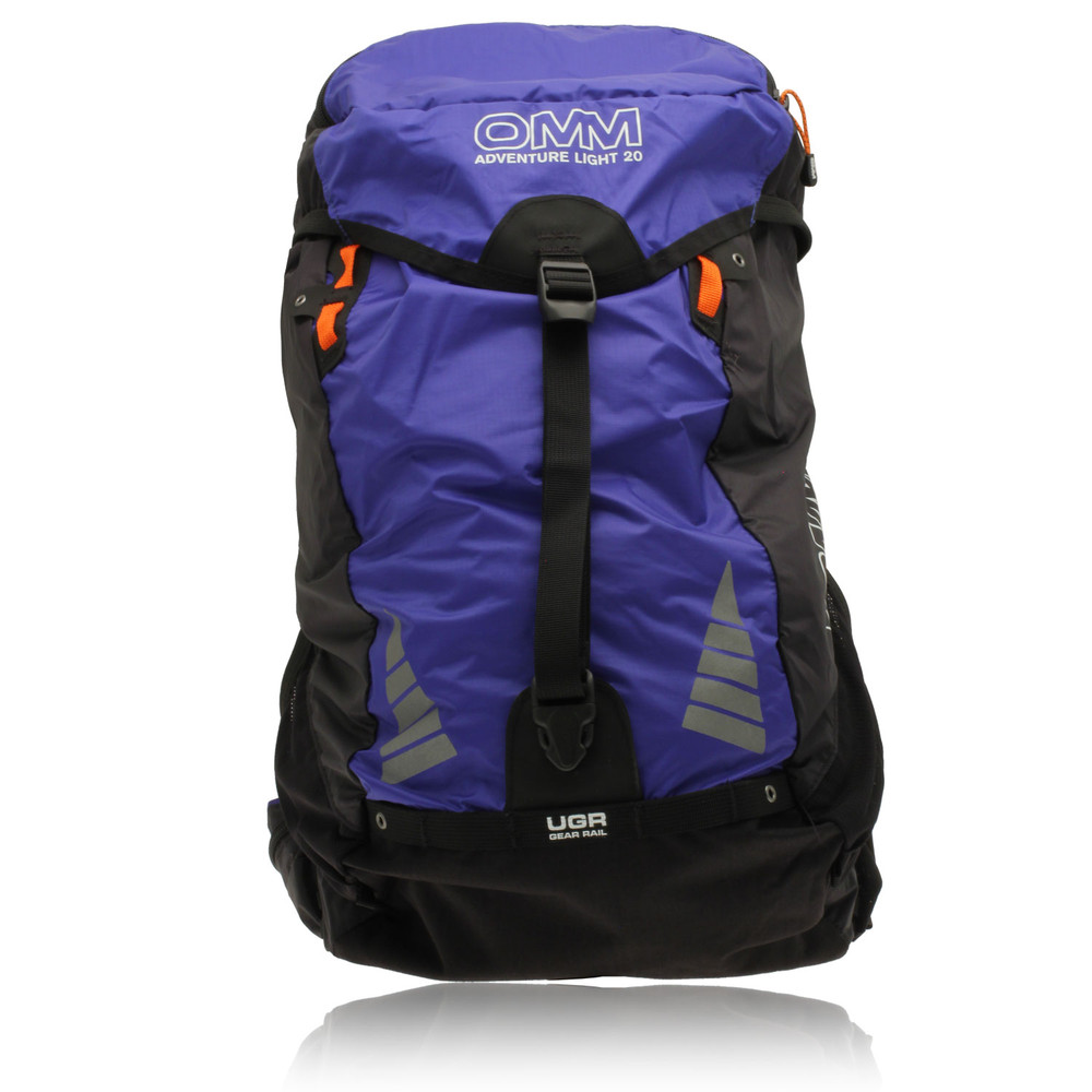 how to put on adventure backpack