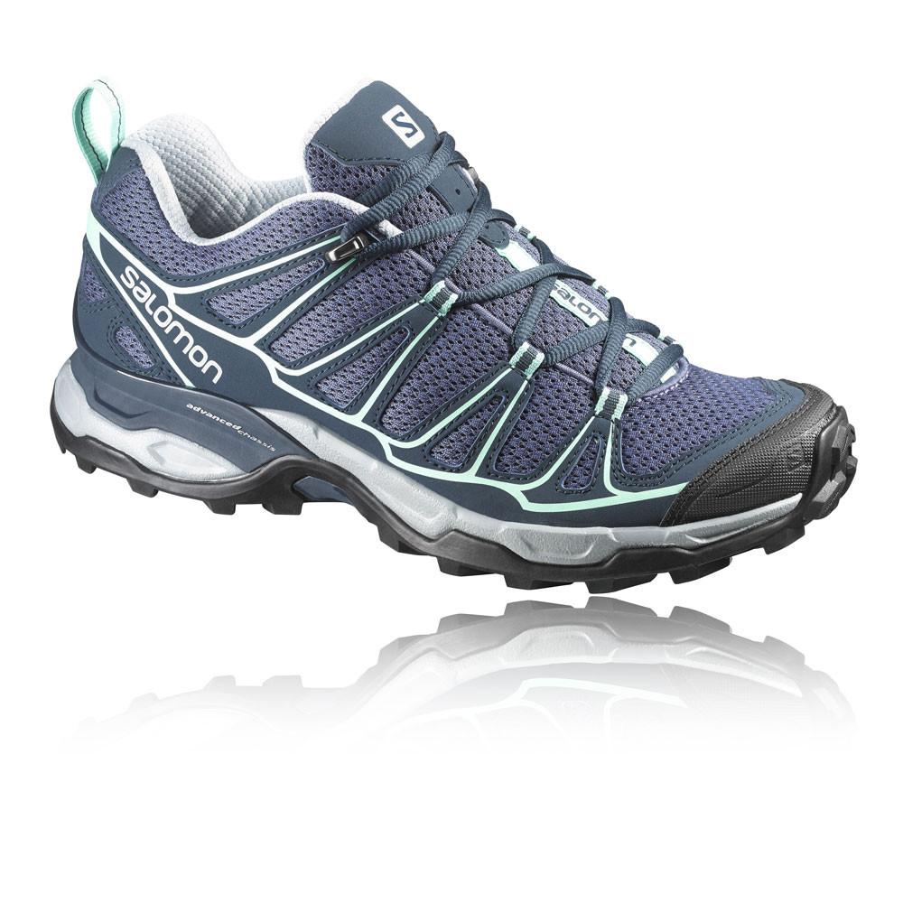 salomon x ultra prime damen trail wanderschuhe trekking sport schuhe blau ebay. Black Bedroom Furniture Sets. Home Design Ideas