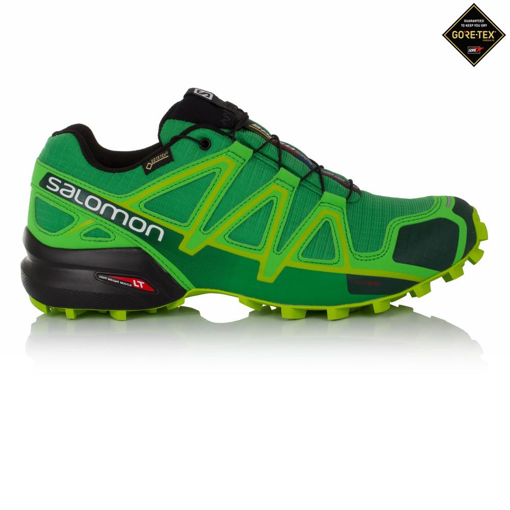 salomon speedcross 4 mens green tex waterproof