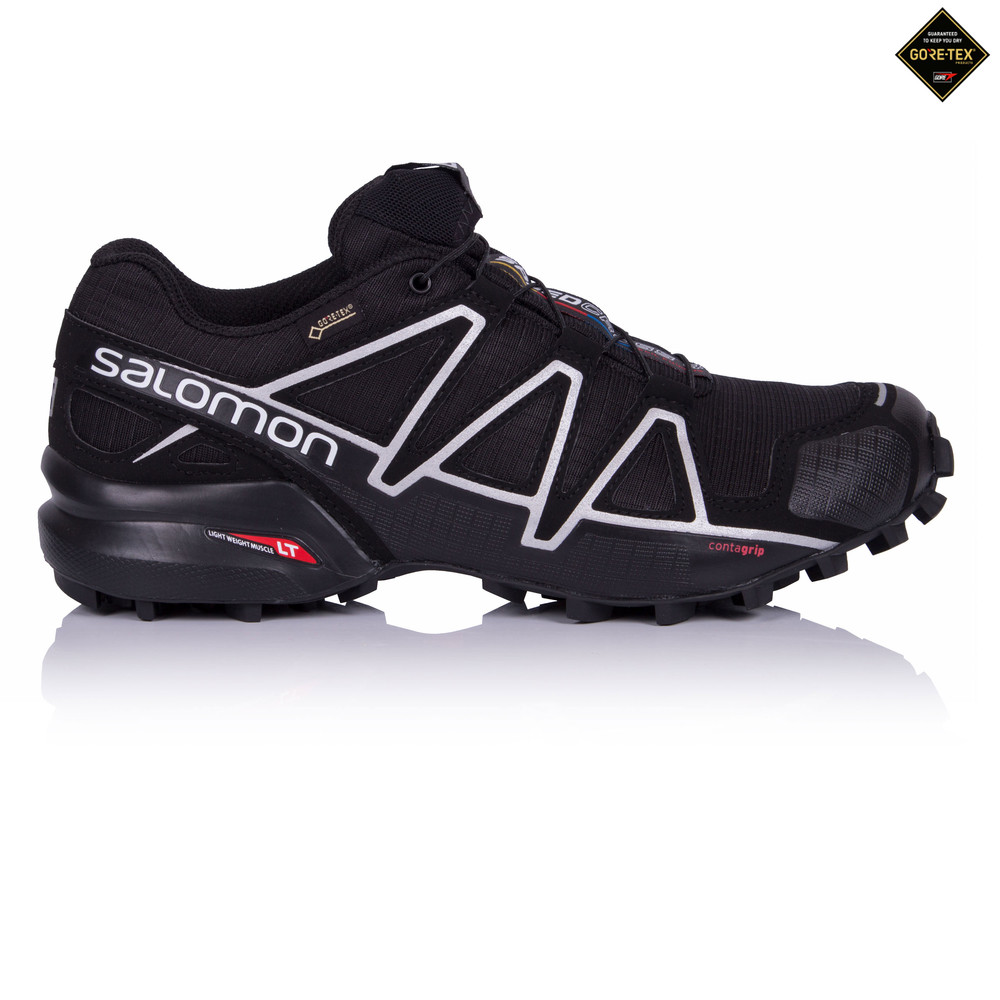 salomon speedcross 4 hommes noir gore tex running chaussures baskets sneakers ebay. Black Bedroom Furniture Sets. Home Design Ideas