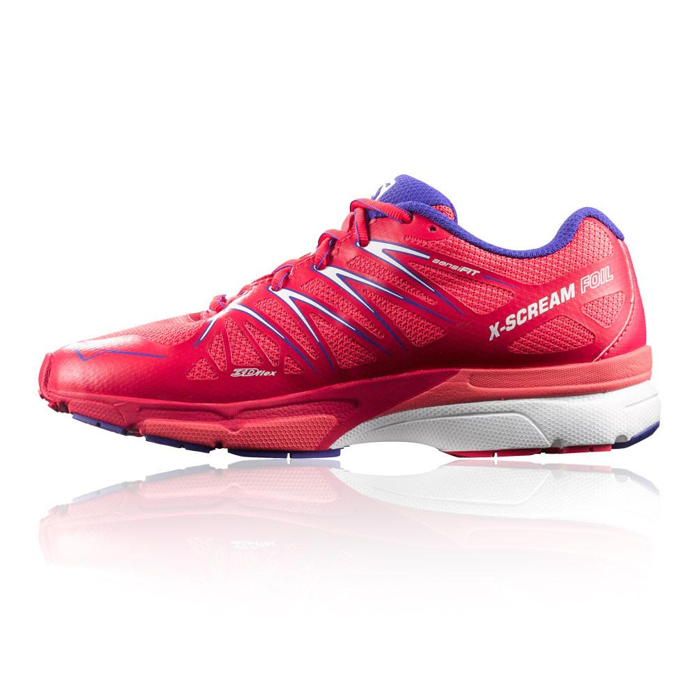 Salomon-X-Scream-Foil-Sendero-Mujer-Rojo-Running-Deporte-Zapatos-Zapatillas