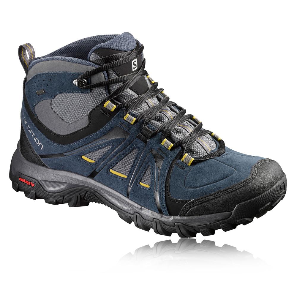Salomon Leather Walking Shoes