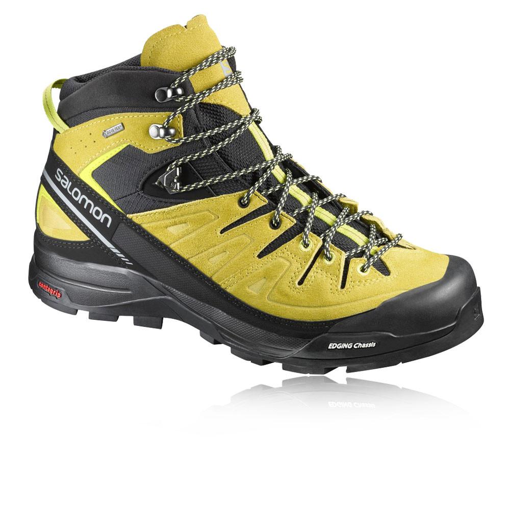 salomon x alp mid ltr mens yellow waterproof tex