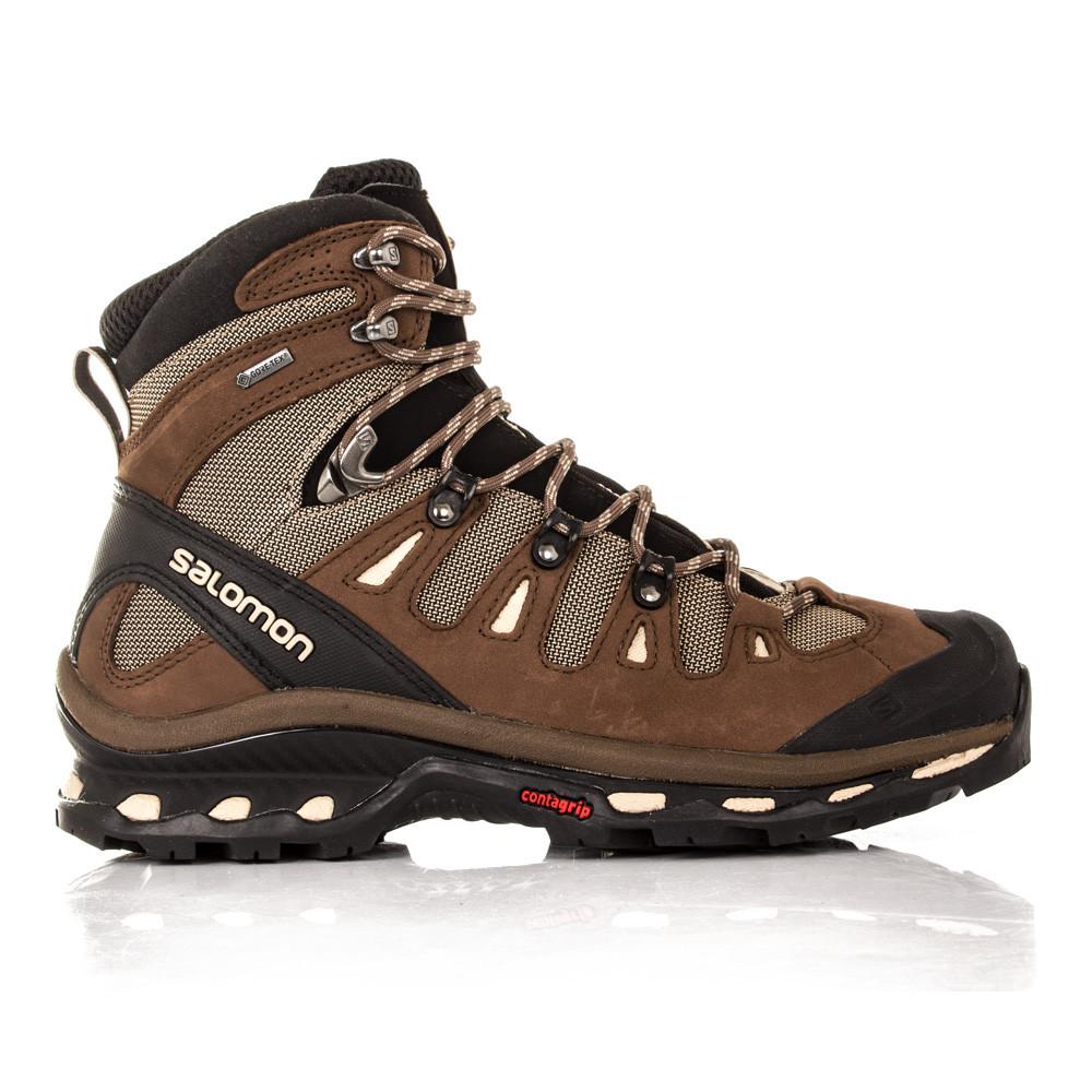 Salomon-Quest-4D-2-Homme-Marron-Impermeable-Gore-Tex-Botte-De-Marche-Chaussure