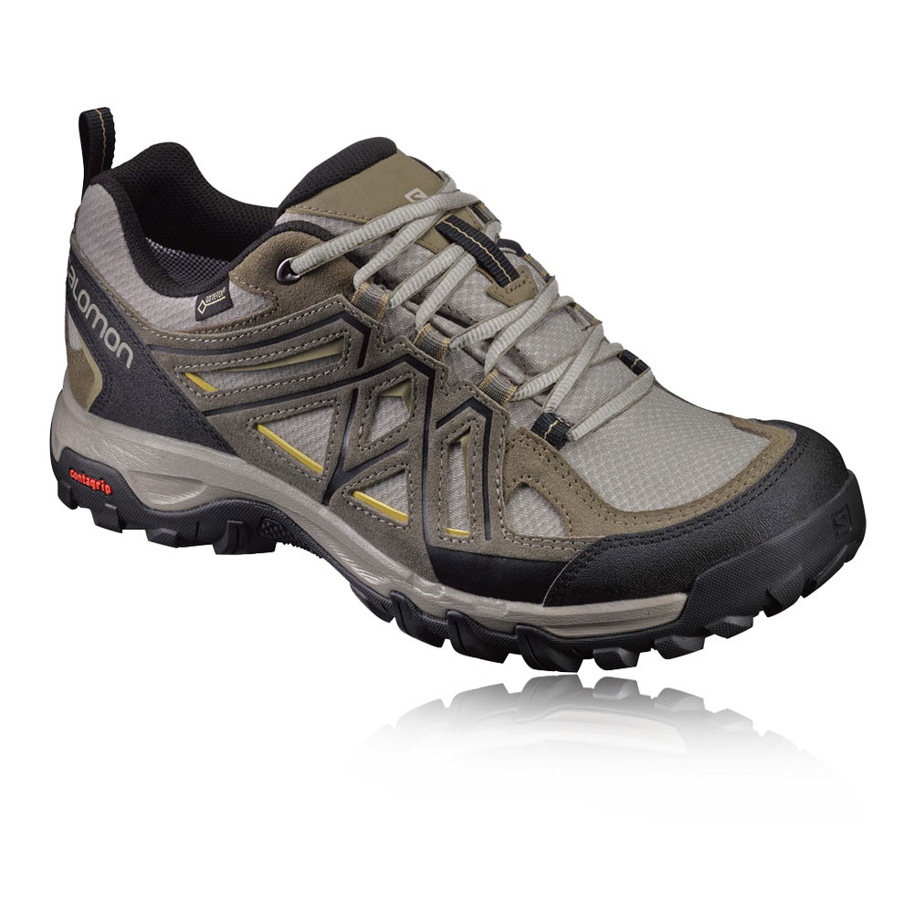 salomon evasion 2 homme gris imperm able gore tex chaussure de marche randonn e ebay. Black Bedroom Furniture Sets. Home Design Ideas