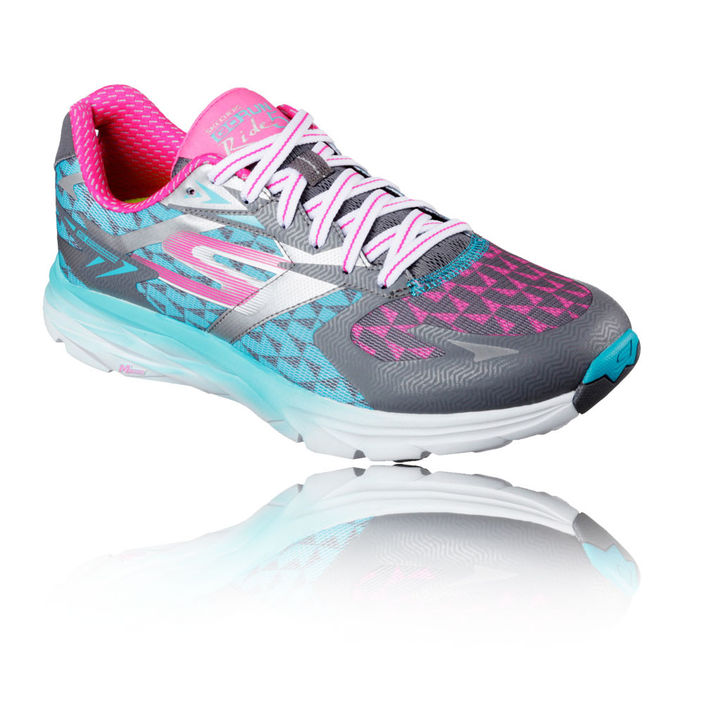 skechers go run 5 womens lace up running road sports shoes. Black Bedroom Furniture Sets. Home Design Ideas