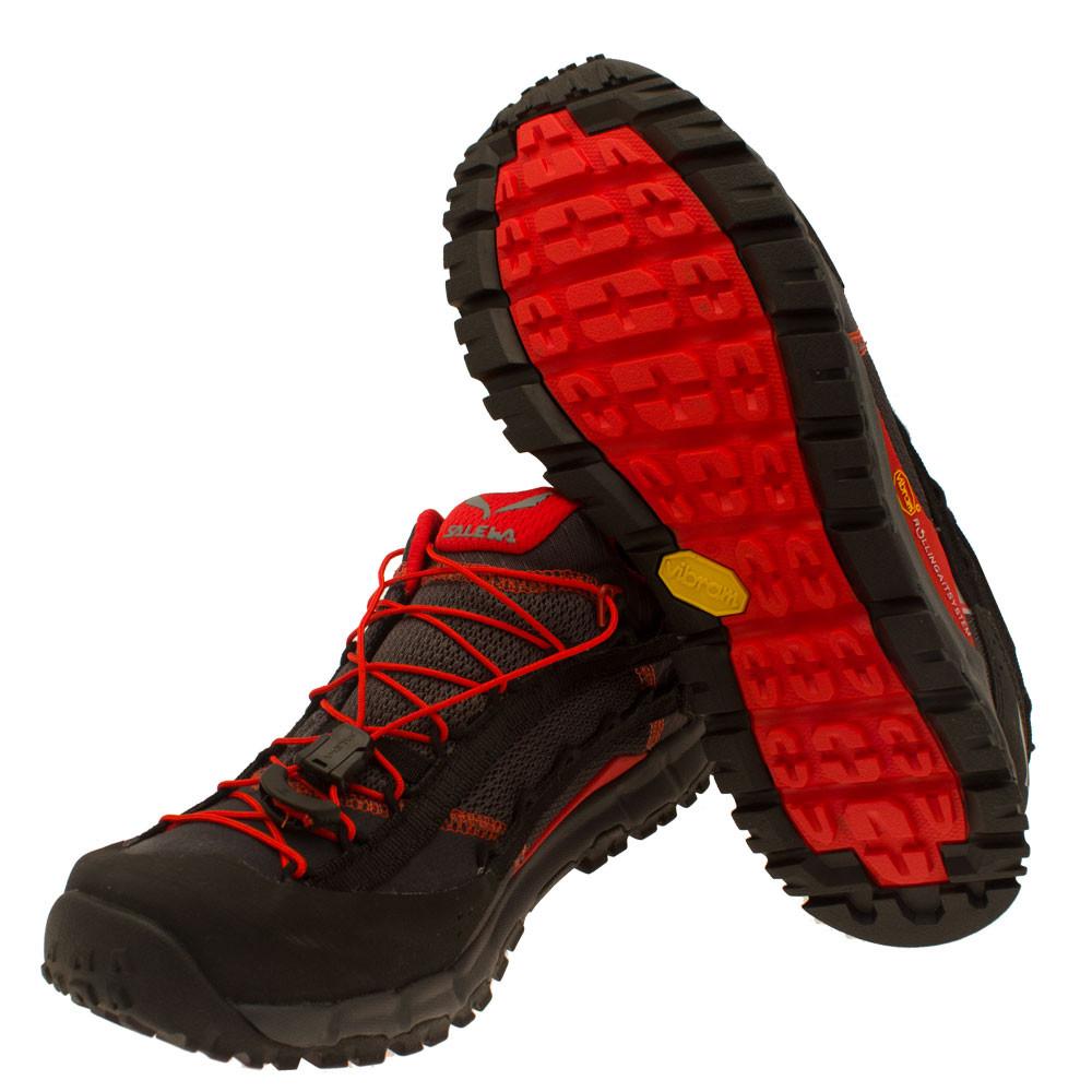 salewa speed ascent mens grey black outdoor walking hiking