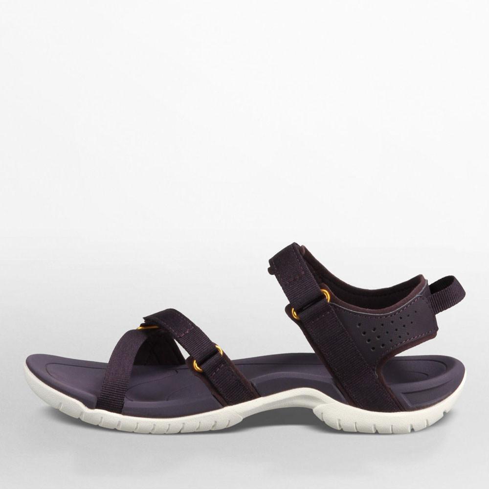 Creative  Shoes Womens Sandals Coach Adelle Women Nubuck Leather Blue Sandals