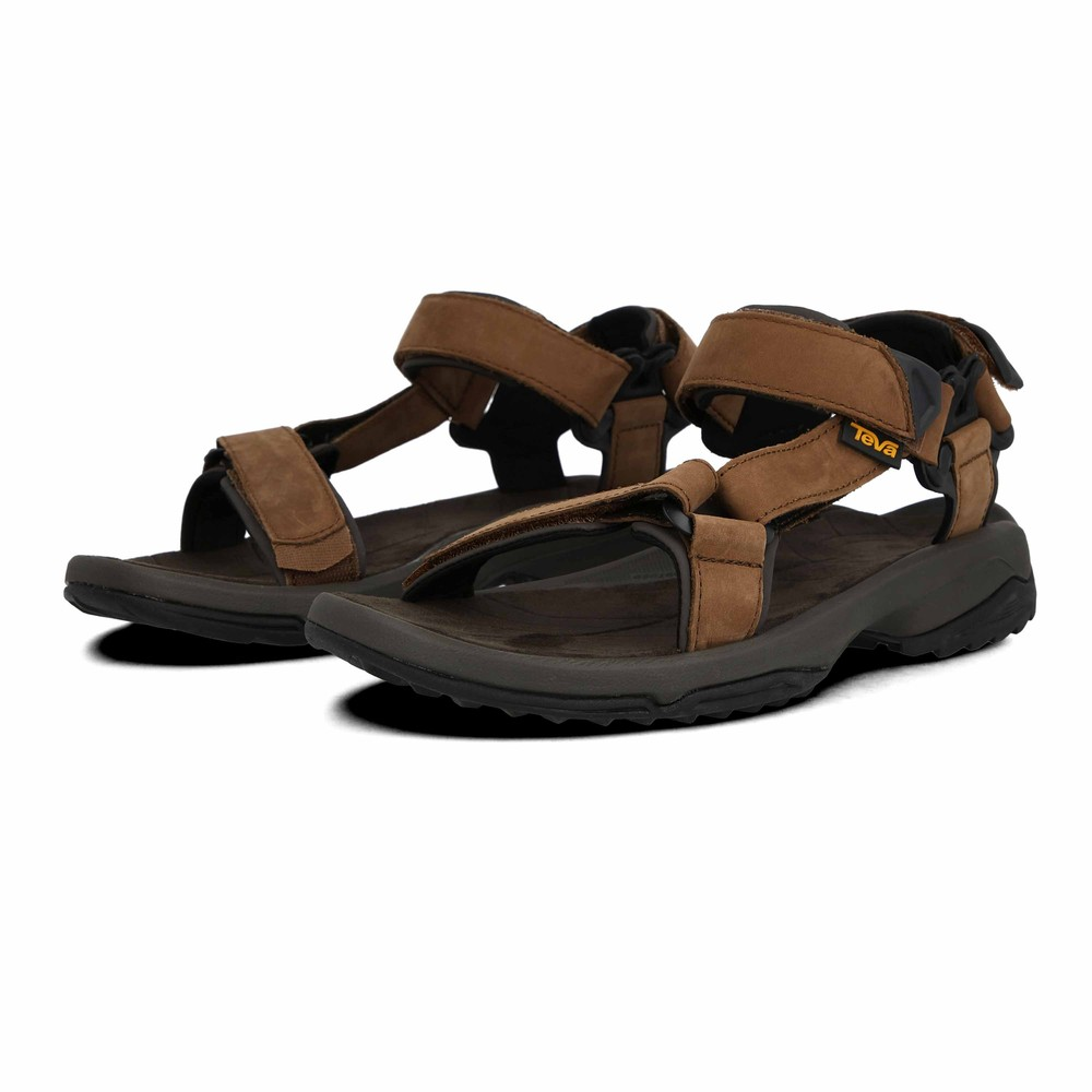 teva terra fi lite herren leder trekkingsandalen sandalen wanderschuhe braun. Black Bedroom Furniture Sets. Home Design Ideas