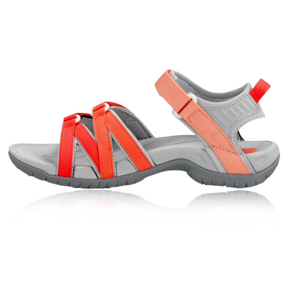 teva tirra damen trekkingsandalen wanderschuhe outdoor sandalen orange grau ebay. Black Bedroom Furniture Sets. Home Design Ideas