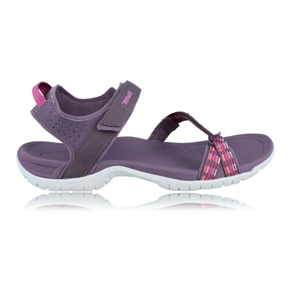 teva verra damen trekkingsandalen wanderschuhe outdoor sommer sandalen lila rosa ebay. Black Bedroom Furniture Sets. Home Design Ideas