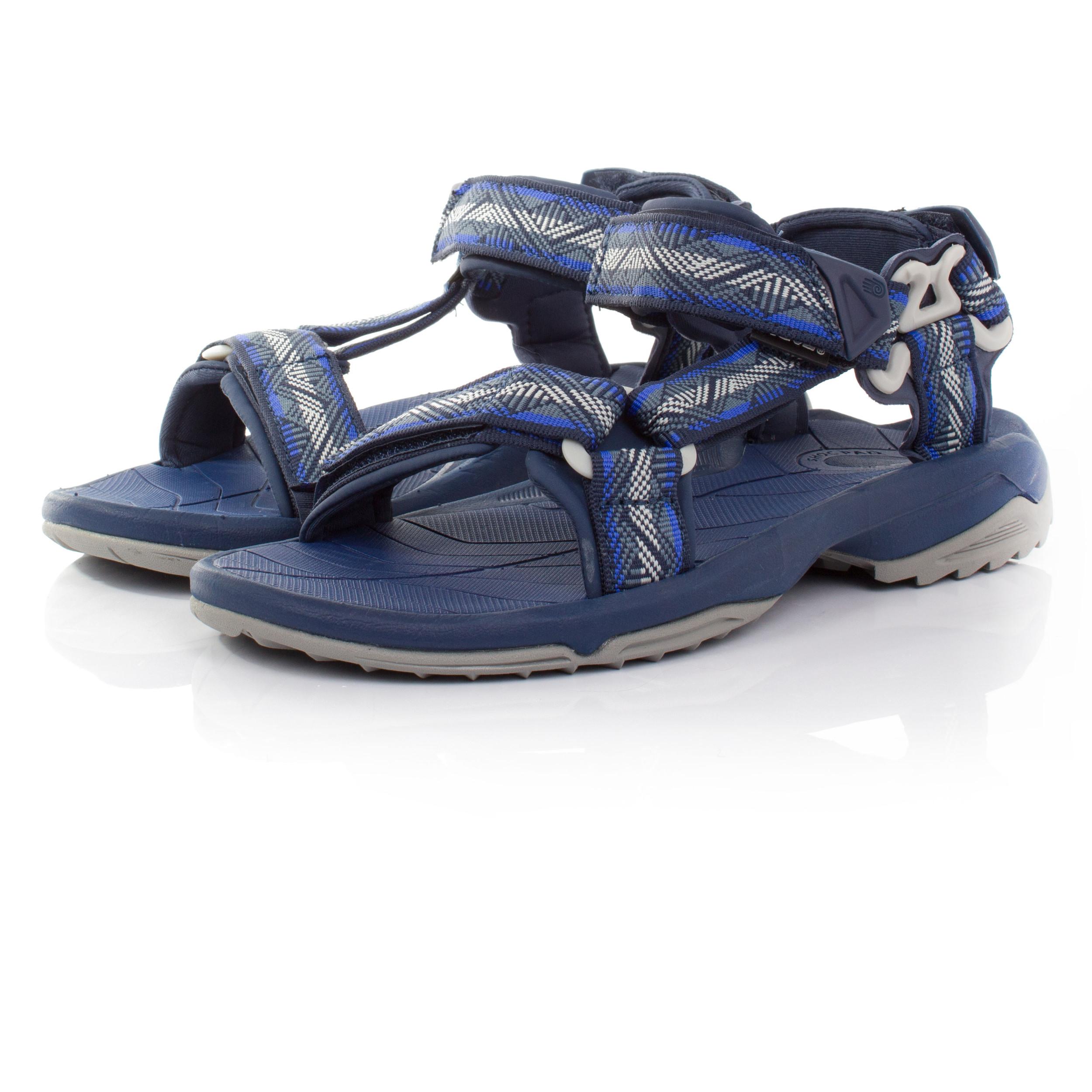 teva terra fi lite damen trekkingsandalen wanderschuhe outdoor sandalen blau ebay. Black Bedroom Furniture Sets. Home Design Ideas