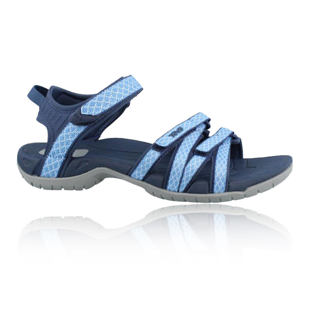 teva tirra damen trekkingsandalen wanderschuhe outdoor sandalen schuhe blau ebay. Black Bedroom Furniture Sets. Home Design Ideas