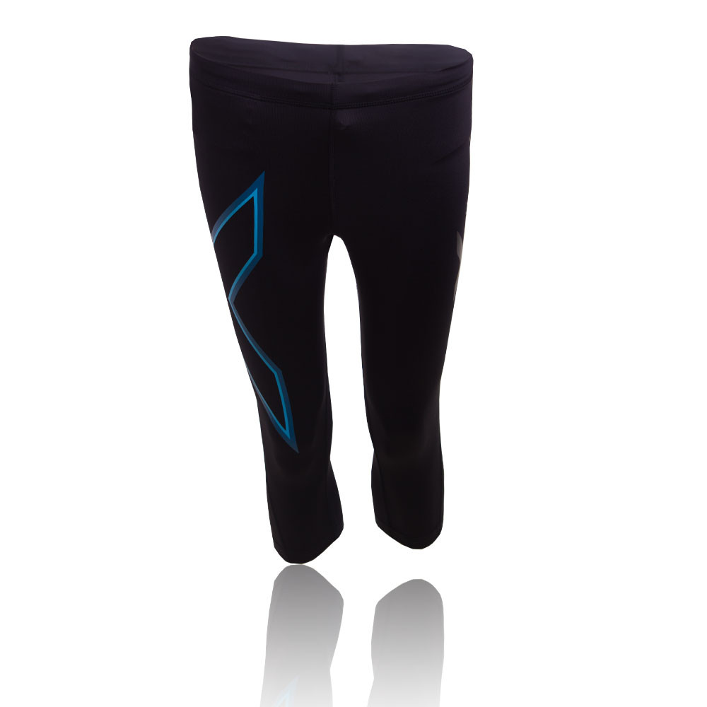 Lastest Home  Yoga Pants  2XU Women Compression Tights Pants Black Blue