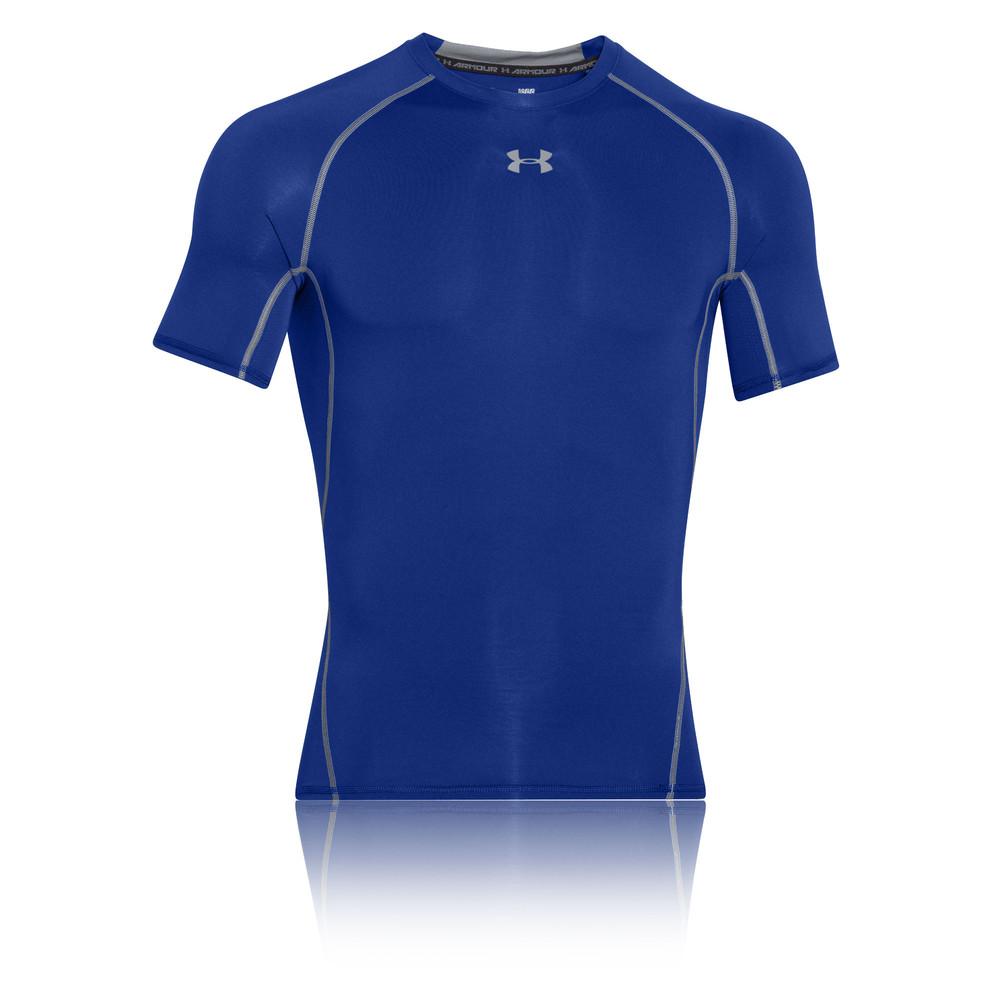 Under armour heat gear mens compression running short for Under armor heat gear t shirt