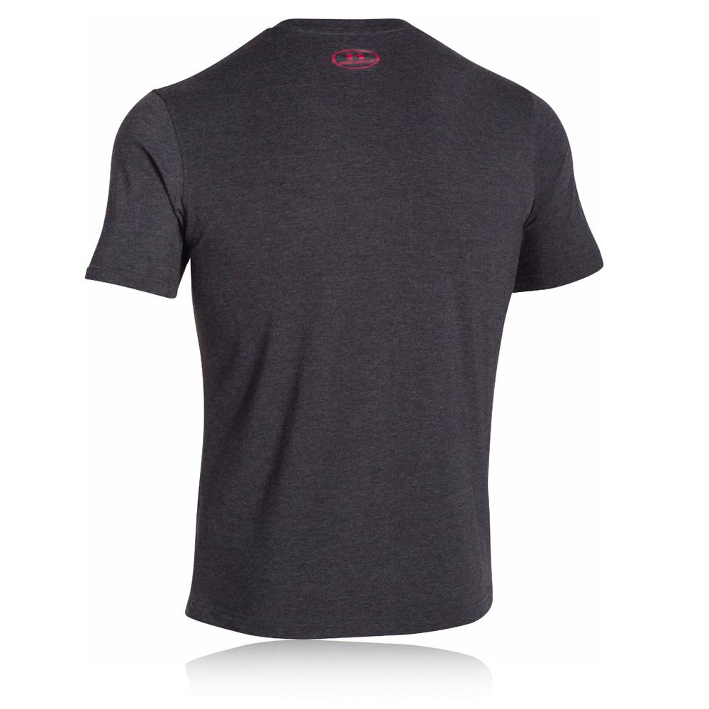 Under Armour Sport Style Logo Mens Black Short Sleeve