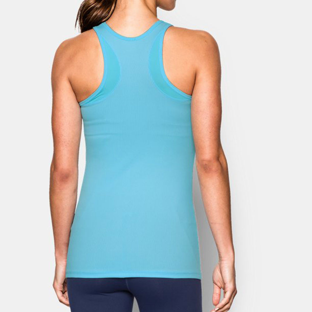 under armour victory womens blue ua tech wicking racerback. Black Bedroom Furniture Sets. Home Design Ideas