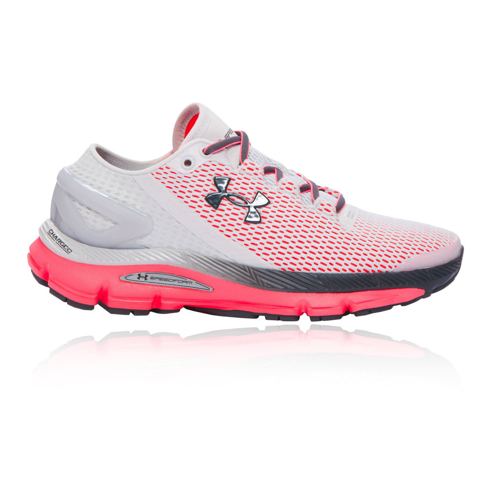 under armour speedform gemini 2 1 womens white running sports shoes trainers ebay. Black Bedroom Furniture Sets. Home Design Ideas