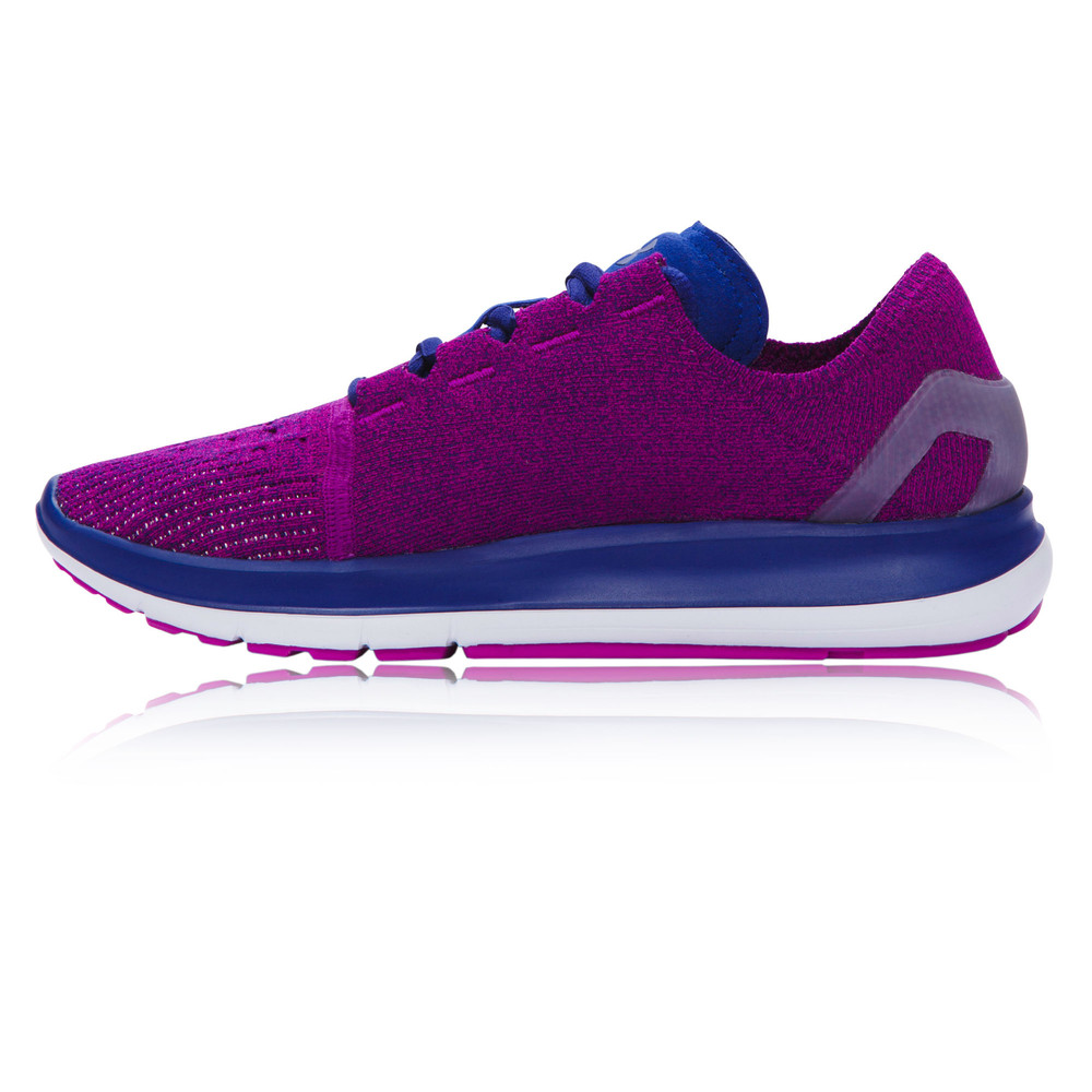 under armour speedform slingride womens purple cushioned running shoes ebay. Black Bedroom Furniture Sets. Home Design Ideas