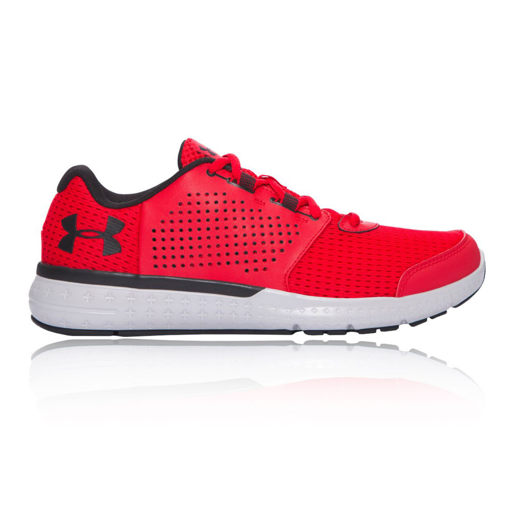 Black Red Under Armour Shoes