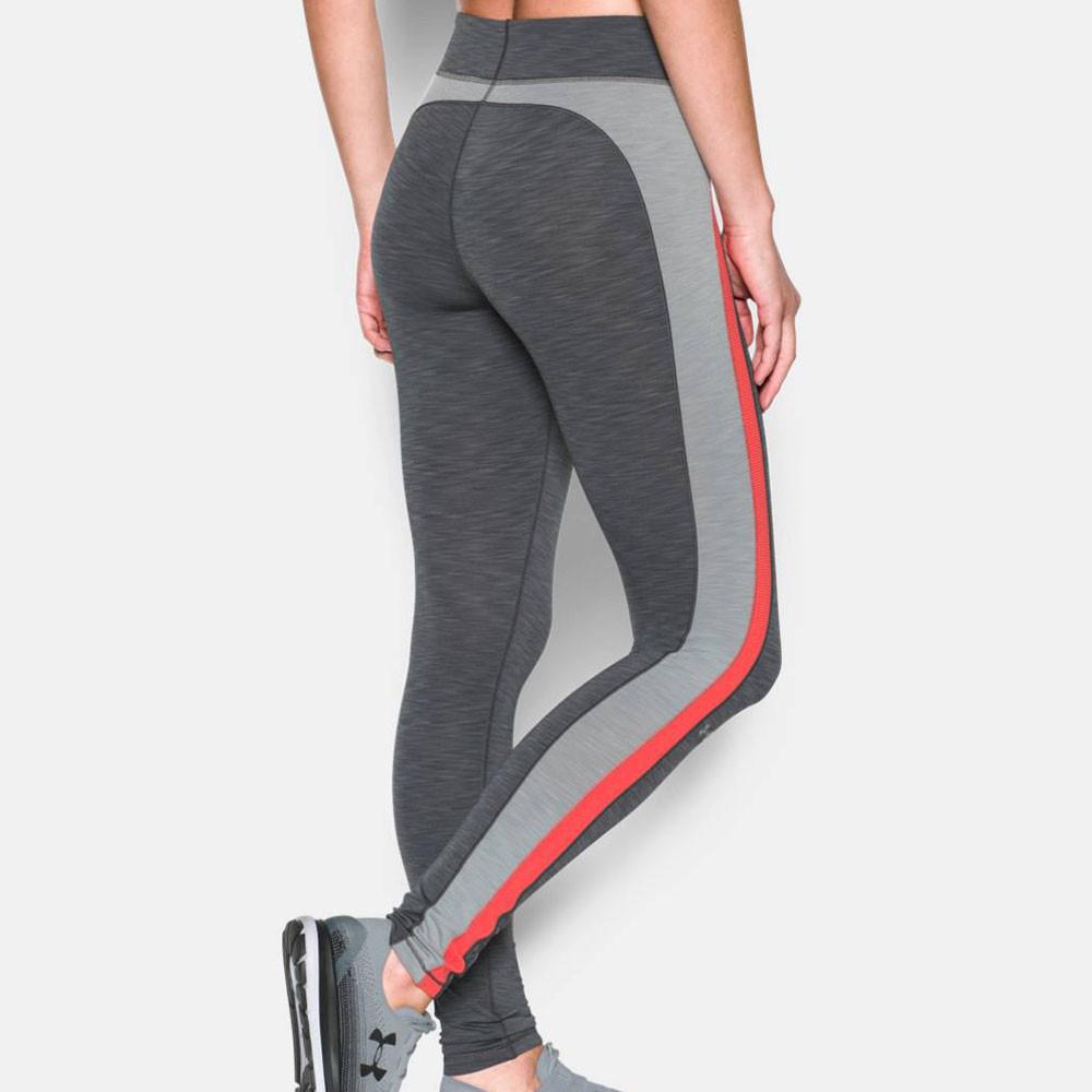 under armour coldgear damen funktionshose sporthose sport jogging leggings grau ebay. Black Bedroom Furniture Sets. Home Design Ideas