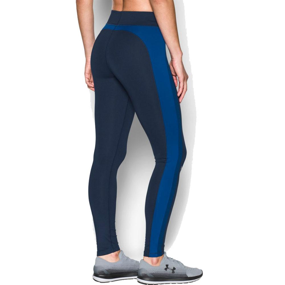 Luxury Under Armour Womens Orange HeatGear Running Gym Compression Shorts
