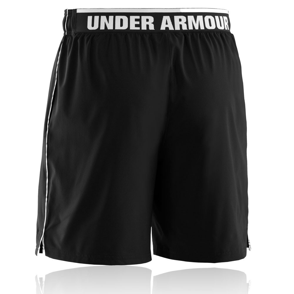 under armour mens heatgear mirage 8 inch black running. Black Bedroom Furniture Sets. Home Design Ideas